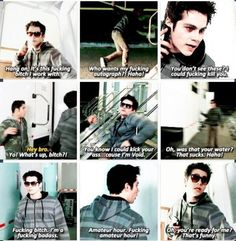 More from the second installment of the skit for the After After Show with Void Stiles (Dylan O'Brien) this is hilarious