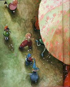 Rebecca #Dautremer #illustration