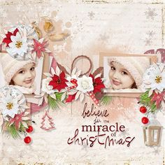 Believe in the Miracle - Scrapbook.com
