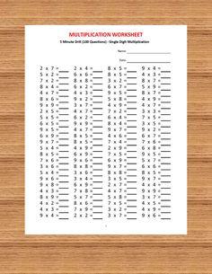 5 Worksheets Addition Drills Part 5 Addition 5 minute drill H 10 Math Worksheets with answers √ Worksheets Addition Drills Part 5 . 5 Worksheets Addition Drills Part 5 . Addition 5 Minute Drill H 10 Math Worksheets with Answers in Addition Worksheets 10th Grade Math Worksheets, Addition And Subtraction Worksheets, Free Math Worksheets, First Grade Math, Kindergarten Worksheets, Printable Worksheets, Grade 1, Third Grade, Multiplication Worksheets