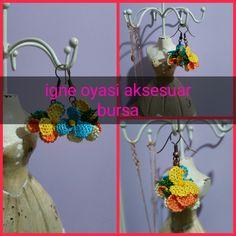 #Turkishneedlelace #kupe  #igne oyası küpe