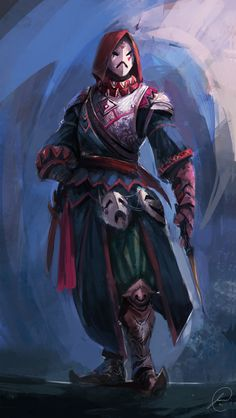 assasin concept by jason nguyenSpectrum 1: The Best in Contemporary Fantastic Art