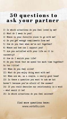 50 Questions to Ask Your Partner Relationship Therapy, Healthy Relationship Tips, Relationship Challenge, Relationship Questions, Healthy Marriage, Marriage Tips, Love And Marriage, Healthy Relationships, Relationship Advice Quotes