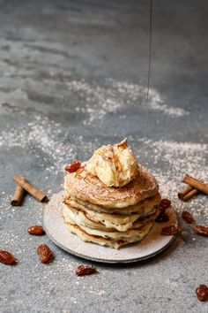 Ingredients for a Beautiful Life!The Ultimate Mother's Day Breakfast In Bed – Cinnamon Swirl Buttermilk Pancakes