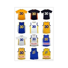 Youth Kid Stephen Curry #30 Basketball jersey Men's Stephen Curry #30... via Polyvore featuring men's fashion, men's clothing, men's activewear, mens jerseys, mens activewear, men's apparel, mens basketball jerseys and mens clothing