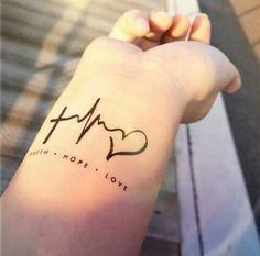 Imagem de tattoo, hope, and faith