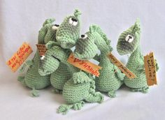 Dragons!  @Corrie Sima-Schuppenies: 50 million friend points if you figure out how to make these little guys for me....  :D