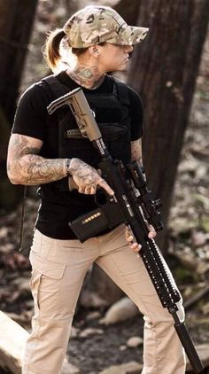 Badass Chick With Guns. Passionate pursuit of drool worthy amazing gear. Ultimate armory of quality knives, EDC, firearms, weapons, gadgets, fashion items & toys for the grown up. @aegisgears