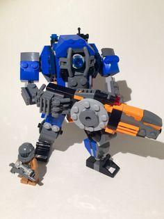 Lego TitanFall 2. Ion Prime.