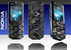 Photoshop - Nokia 7500 render