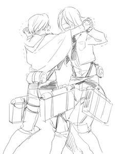 Levi x Mikasa. Rikasa. Rivamika