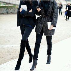 Street style girls @stayinspiredchic www.oda-viktoria.squarespace.com