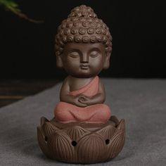 """Brûleur d'encens en céramique """"Petit Bouddha"""""""