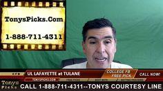 UL Lafayette Rajin Cajuns vs. Tulane Green Wave Pick Prediction College ...