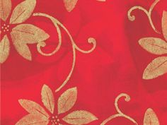 POINSETTIA SHADOWS 18'x417'Gift Wrap Half Ream Roll (1 unit, 1 pack per unit.) -- Continue to the product at the image link.