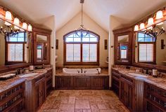 Give me this bathroom and I don't care about the rest of the house!