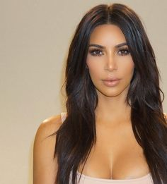 "kimwestpictures: "" """"@makeupbyariel: Close up  ✔️ - @kimkardashian @clydehairgod #kimkardashian #makeupbyariel"" (x) "" """