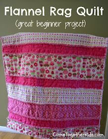 A great beginner sewing project! Very excited about this - could be a great gift for baby Charlie and a good first quilt to try!!!