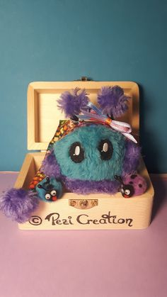 cute Mimi Plushie Playmi with Bugs – My Pin's Stuffed Animals, Fantasy Wesen, Your Favorite, Favorite Color, Cute Creatures, Plushies, Hand Sewing, Bugs, Great Gifts