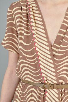 1970s cigarette dress print