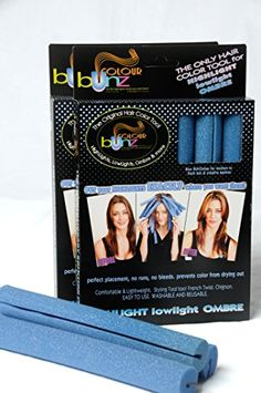 Create DIY High Lights and Hair Color with Blue Wide Channel Colour Bunz -- You can find out more details at the link of the image.