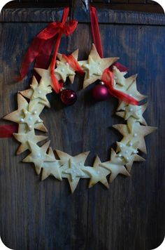 Couronne sablée pour Noël – Paprikas
