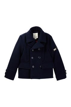 Peacoat with Bubble Back Panel (Big Boys)