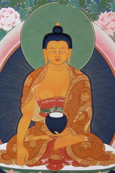 Buddha Shakyamuni Detail By Tashi Dhargyal.