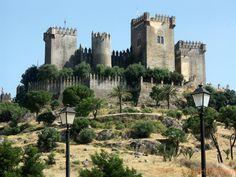 Castillo de la Floresta de Almodóvar, Almodovar Del Rio , España, Andalucia