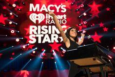 Macy's Rising Star at the 2015 iHeart Radio Music Festival.