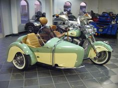 2015 Indian Motorcycle Vinage with sidecar
