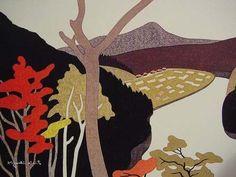 Kiyoshi Saito    -  Autumn in Tadami River