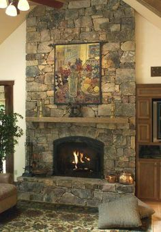Something like this would be exactly what my fireplace needs