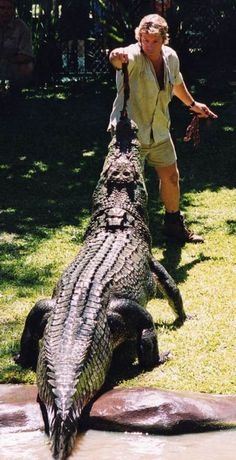 The Crocodile Hunter Steve Irwin | Bilder von Steve Irwin