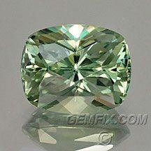 green cushion  montana sapphire