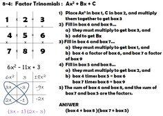 tic-tac-toe pic for factoring...interesting method