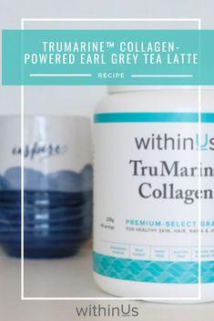 #earlgrey #collagen #tea #latte Banana Protein Pancakes, Protein Cookies, Earl Grey Tea, Latte Recipe, Tea Latte, Plant Protein, Barista, Collagen, Peppermint