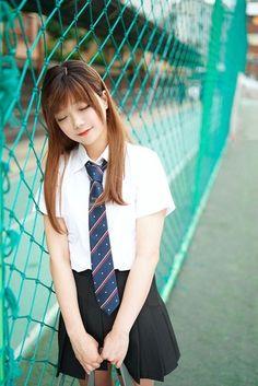 Japanese School Uniform, School Uniform Girls, Girls Uniforms, School Uniforms, Cute Asian Girls, Cute Girls, School Girl Japan, Angelababy, School Fashion