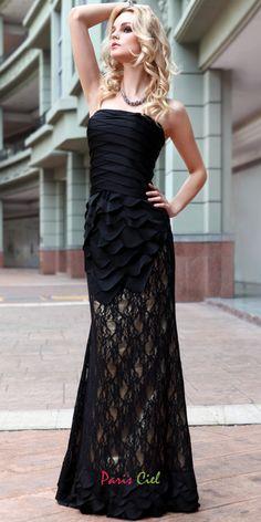 I Am Mermaid Strapless Designer Dress