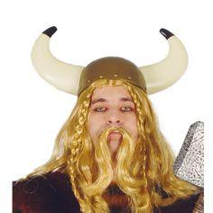 Casco de Vikingo #sombrerosdisfraz #accesoriosdisfraz #accesoriosphotocall