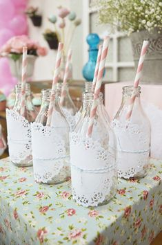 9 Vibrant New Spring Wedding Trends; Whimsical cocktails served in creative containers (tea cups, coke bottles, mason jars, etc.)