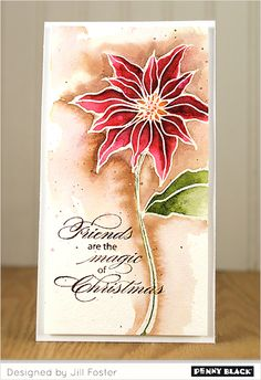 featuring Penny Black's NEW 2014 Christmas Stamps, Stencils, Creative Dies, and Stickers