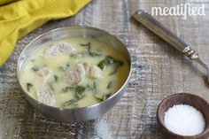 This sneaky sausage soup is thick and creamy, without using any kind of milk at all. What is this sorcery?!
