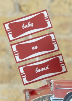 Diner Food Flags. Mark the occasion with food flags that sing back with a classic retro diner feel.