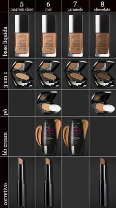 Maquiagem Avon para pele negra
