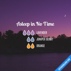 Asleep in No Time - Essential Oil Diffuser Blend