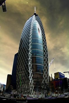 Mode Gakuen Cocoon Tower #Tokyo #Japan #JapanWeek  Subscribe today to our newsletter for a chance to win a trip to Japan http://japanweek.us/news  Like us on Facebook: https://www.facebook.com/JapanWeekNY
