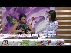 Mulher.com - 06/10/2015 - Pintura em tecido - Audrei Isis PT1 - YouTube