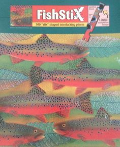 """Fall River """"Fishstix"""" Puzzle Ceaco,http://www.amazon.com/dp/B000MSD2BY/ref=cm_sw_r_pi_dp_p2FTsb1Q7J6BY6T5"""