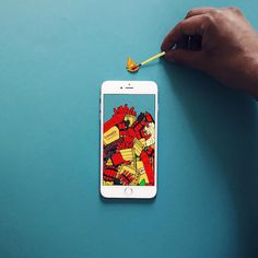 Anshuman Ghosh's Playful Illusions Created with an iPhone